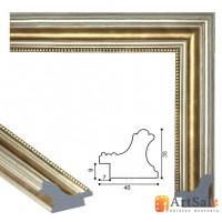 Рамки для картин, багет пластиковый ART.: bp708