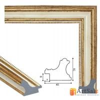 Рамки для картин, багет пластиковый ART.: bp710