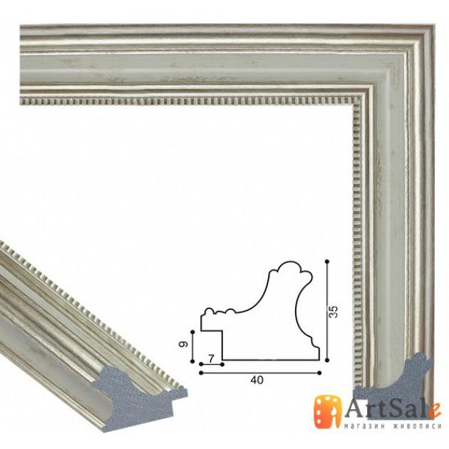 Рамки для картин, багет пластиковый ART.: bp711