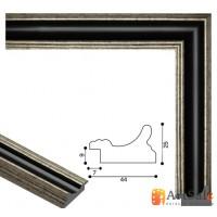 Рамки для картин, багет пластиковый ART.: bp713