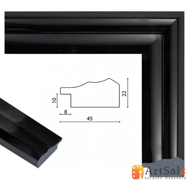 Рамки для картин, багет пластиковый ART.: bp787
