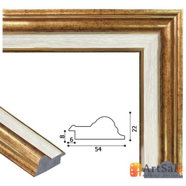 Рамки для картин, багет пластиковый ART.: bp672