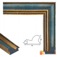 Рамки для картин, багет пластиковый ART.: bp792