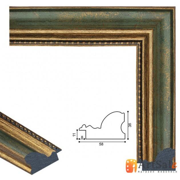 Рамки для картин, багет пластиковый ART.: bp794