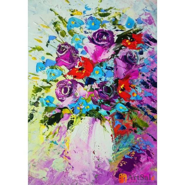 Картина цветы, ART: FS0042