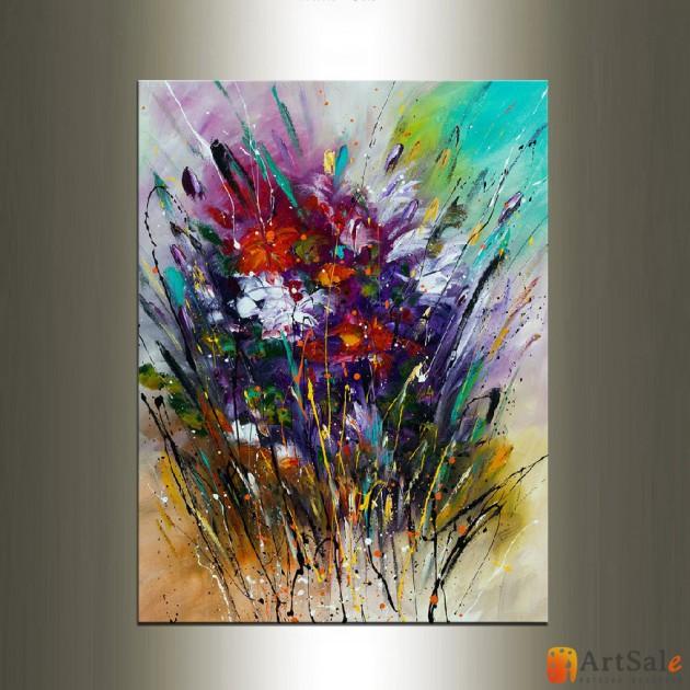 Картина цветы, ART: FS0057