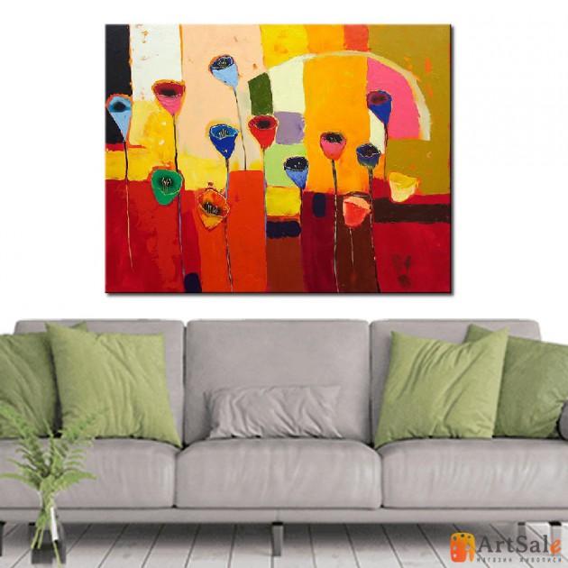 Картина цветы, ART: FS0008