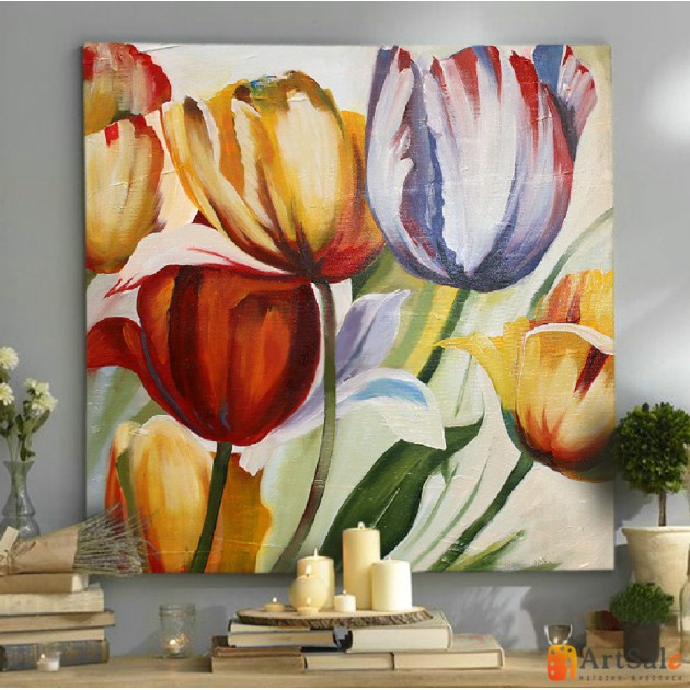 Картины цветы, ART: FS0157