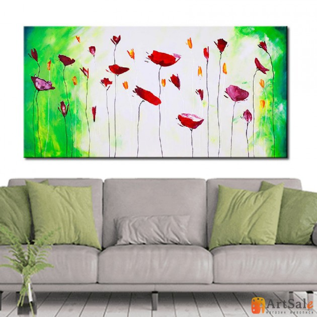 Картины цветы, ART: FS0067