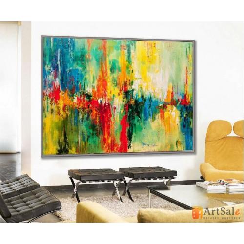 Картина абстракция, ART: AS0001