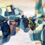 Картина абстракция, ART: AS0547