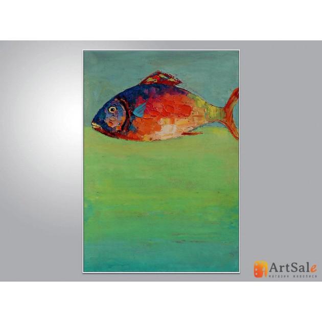 Интерьерные картины, Рыба ART: IK0014