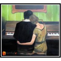 Картины с людьми, ART# LUD17_017