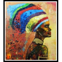 Картины с людьми, ART# LUD17_034