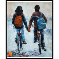 Картины с людьми, ART# LUD17_057