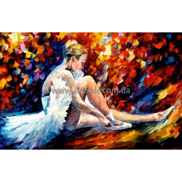 """Картина маслом купить """"Балерина 2"""""""