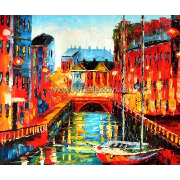 Городские Пейзажи Картина ART: SITY0075