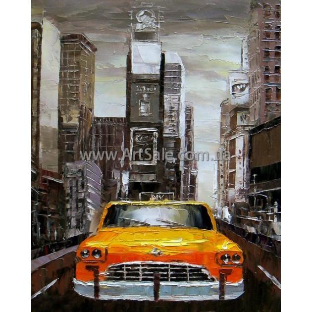 Картины городов New York