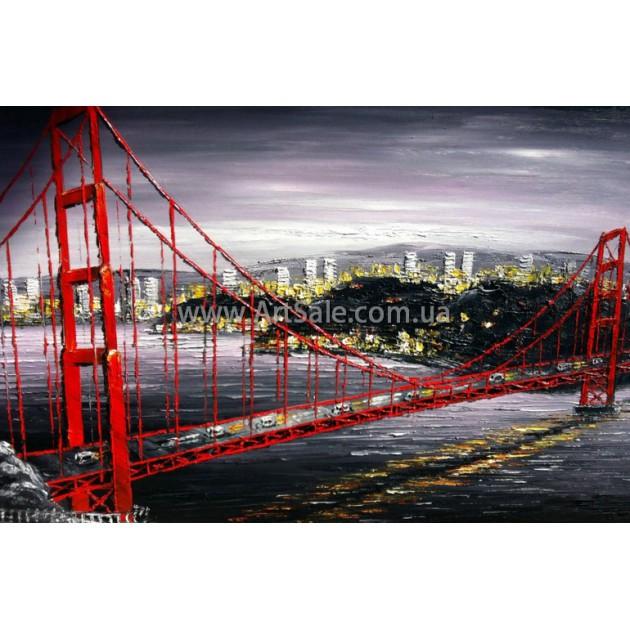 Картина Бруклинский Мост ART: SITY0369