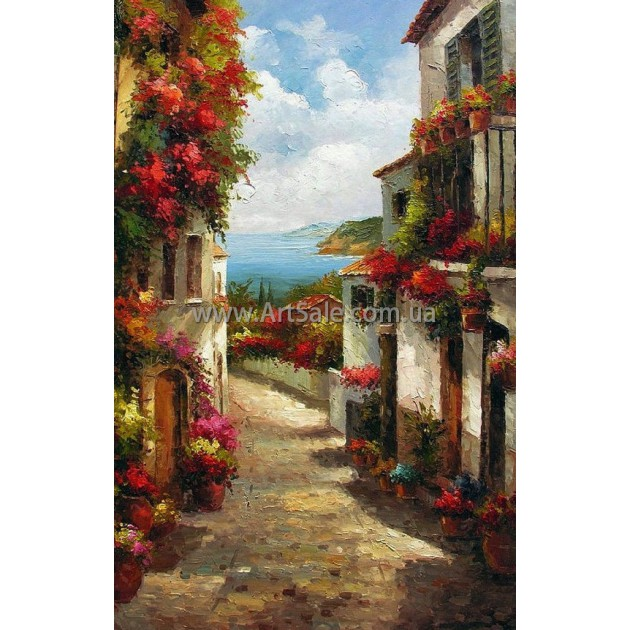Городские Пейзажи Картина ART: SITY0445