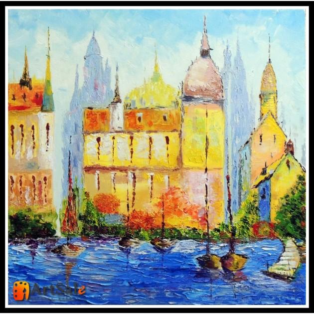 Городской пейзаж, картины, ART# ULI17_004