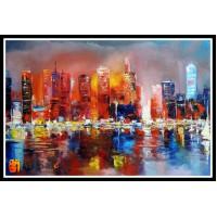 Городской пейзаж, картины, ART# ULI17_005