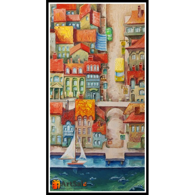 Городской пейзаж, картины, ART# ULI17_007