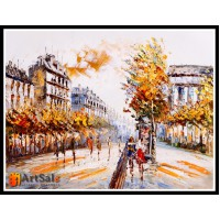 Городской пейзаж, картины, ART# ULI17_039