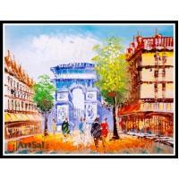 Городской пейзаж, картины, ART# ULI17_041