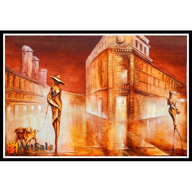 Городской пейзаж, картины, ART# ULI17_044