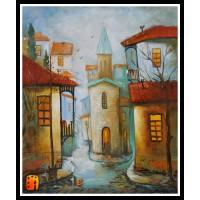 Городской пейзаж, картины, ART# ULI17_070