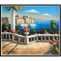 Морской пейзаж, пейзаж море, ART# MOP17_001