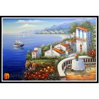 Морской пейзаж, пейзаж море, ART# MOP17_004