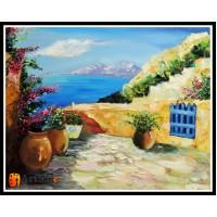 Морской пейзаж, пейзаж море, ART# MOP17_006