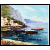 Морской пейзаж, пейзаж море, ART# MOP17_012