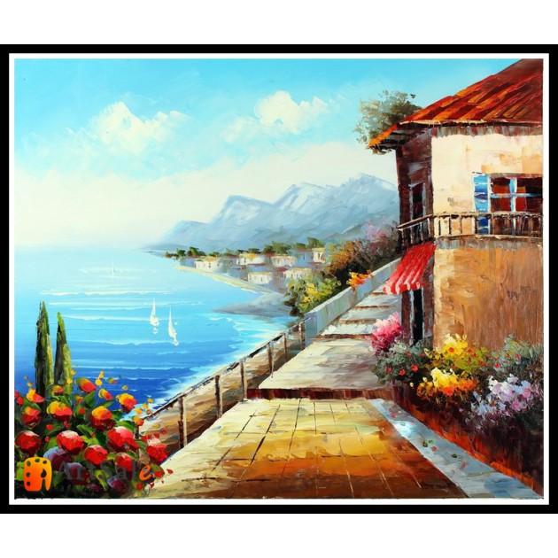 Морской пейзаж, пейзаж море, ART# MOP17_013