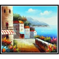 Морской пейзаж, пейзаж море, ART# MOP17_014