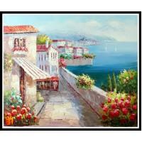 Морской пейзаж, пейзаж море, ART# MOP17_019