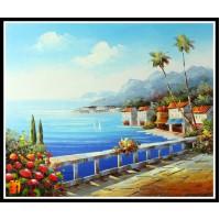 Морской пейзаж, пейзаж море, ART# MOP17_021