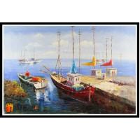 Морской пейзаж, пейзаж море, ART# MOP17_026