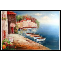 Морской пейзаж, пейзаж море, ART# MOP17_029