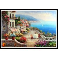 Морской пейзаж, пейзаж море, ART# MOP17_030