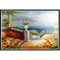 Морской пейзаж, пейзаж море, ART# MOP17_032