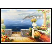Морской пейзаж, пейзаж море, ART# MOP17_033