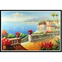 Морской пейзаж, пейзаж море, ART# MOP17_038