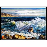 Морской пейзаж, пейзаж море, ART# MOP17_042