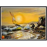 Морской пейзаж, пейзаж море, ART# MOP17_043