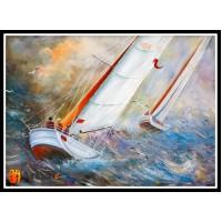 Морской пейзаж, пейзаж море, ART# MOP17_044