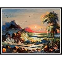 Морской пейзаж, пейзаж море, ART# MOP17_045