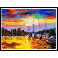 Морской пейзаж, пейзаж море, ART# MOP17_052